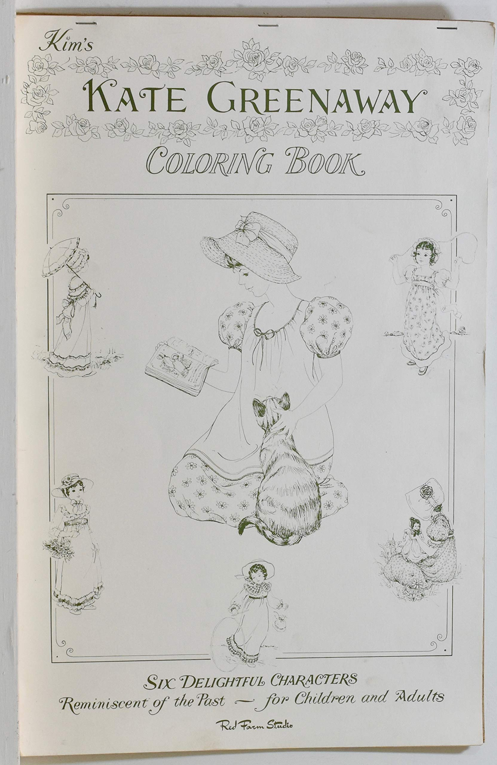 Kim\'s Kate Greenaway Coloring Book: Kate) Greenaway: Amazon.com: Books