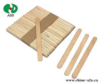 A2U Palitos de madera para manualidades, palos de madera ...