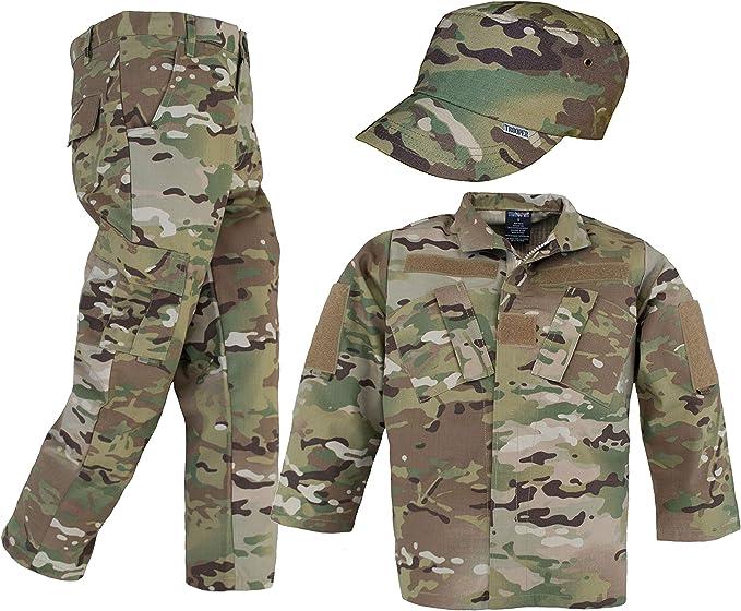 Amazon.com: Conjunto de 3 piezas de uniforme Multicam para ...