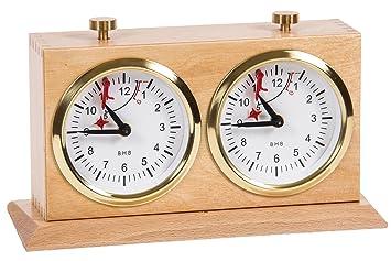 Reloj de ajedrez - BHB Special Exclusive - Caoba BL - Chess Clock: Amazon.es: Juguetes y juegos
