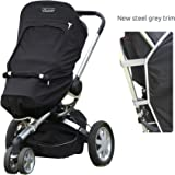 SnoozeShade Plus 5-in-1 Universal Stroller UV Cover/Baby Sunshade Blocks 99% UV
