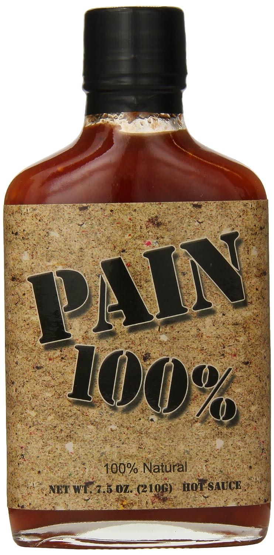 Pain 100% Hot Sauce, 7.5 Ounce