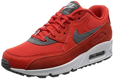 meet 499e6 6a3a8 Nike Womens Air Max 90 Max Orange Cool Grey White Running Shoe 7.5 Women