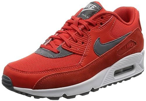 5b6abf78155f2 Nike Women s Air Max 90 Max Orange Cool Grey White Running Shoe 6 Women