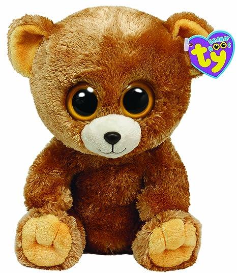 efbb739d195 Amazon.com  Ty Beanie Boos - Honey the Bear  Toys   Games