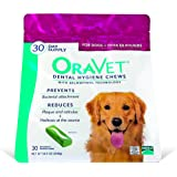 Frontline Merial Oravet Dental Hygiene Chew for Large Dogs (50 lbs and over), Dental Treats for Dogs, 30 Count
