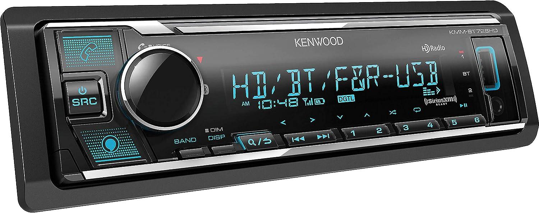 Kenwood KMM-BT728HD Bluetooth Digital Media Receiver Supports  Alexa