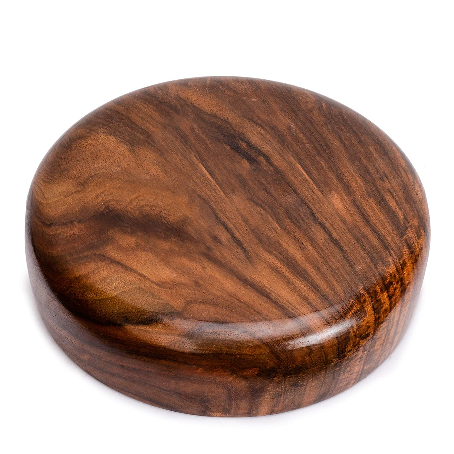 Rusticity/® Wood Serving Bowl Set of 2 Small Handmade   5 inch