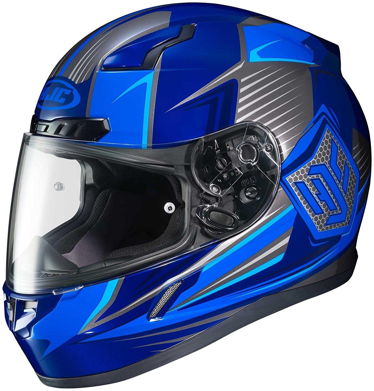 HJC Helmets Unisex-Child Off-Road Style CL-XY II Bator Youth Offroad Helmet Grey//Black Small