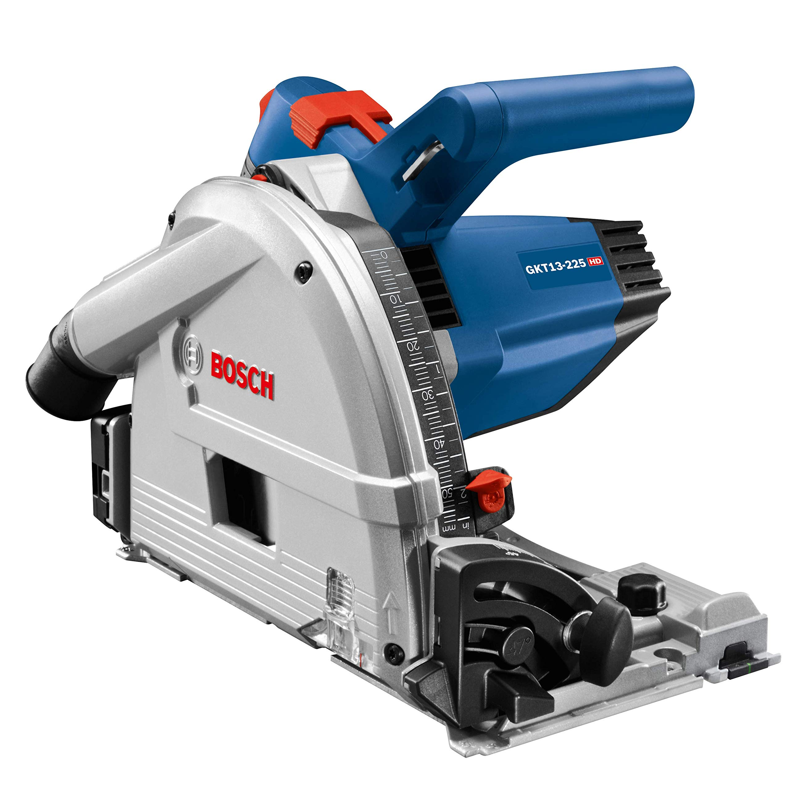 Bosch Tools Track Saw - GKT13-225L 6-1/2 In. Precison Saw with Plunge Action & Carrying Case by Bosch