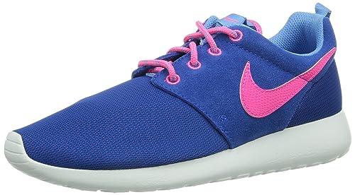 new style c365b 9456e Nike Gradeschool Rosherun (GS) Hyper Cobalt University Blue White 599729-403