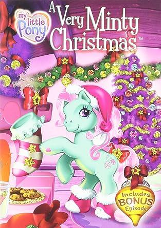 Mlp Christmas.Amazon Com My Little Pony A Very Minty Christmas Movies Tv