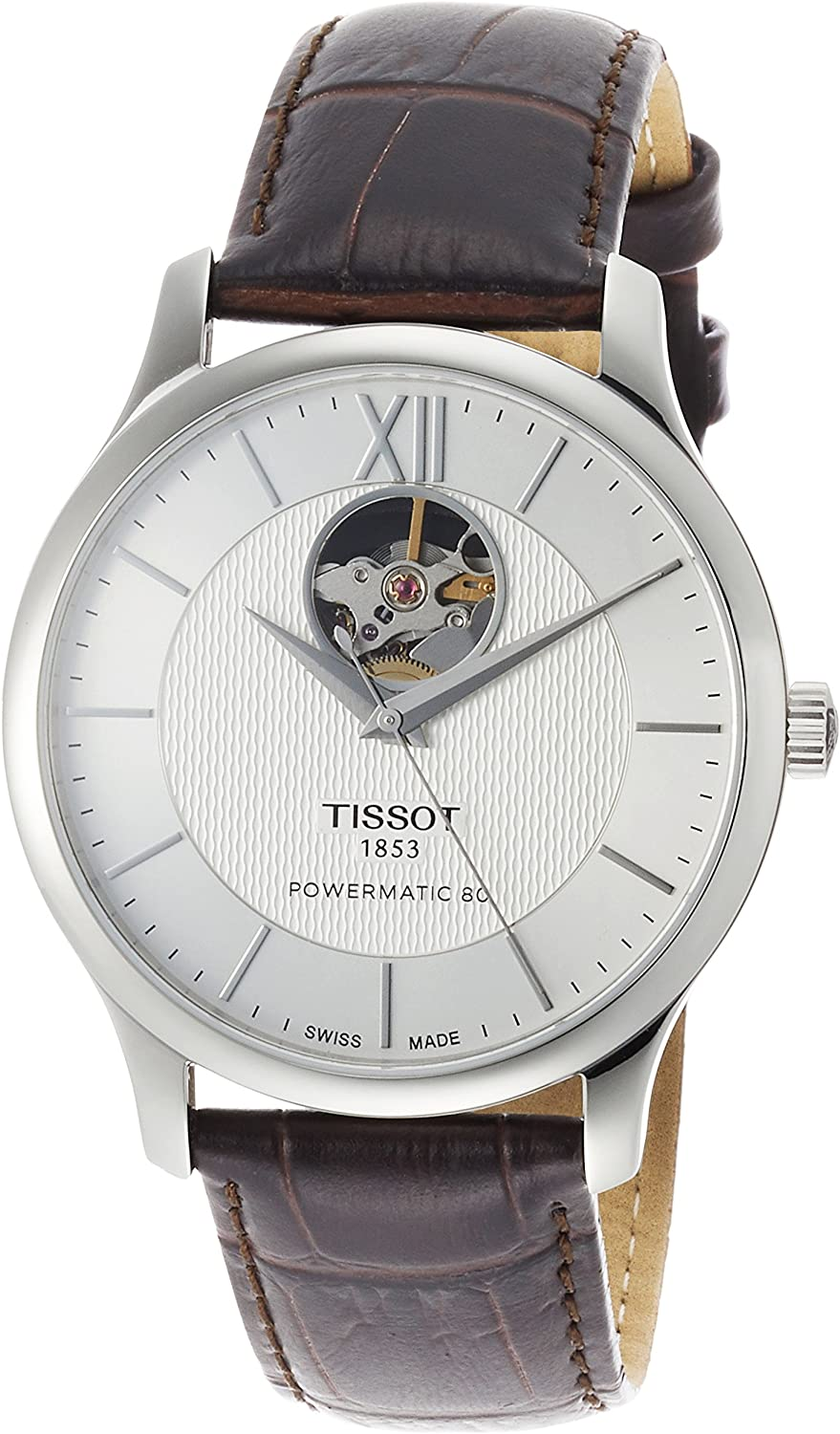Tissot Tradition Automatic Silver Dial Men s Watch T063.907.16.038.00