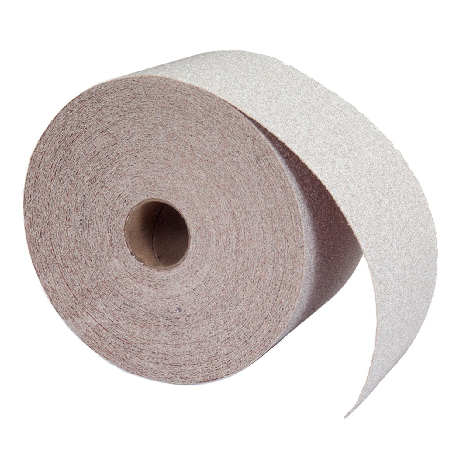 25mm x 25m P120 R222 Norton Best Quality Abrasive Roll with tear off dispenser.