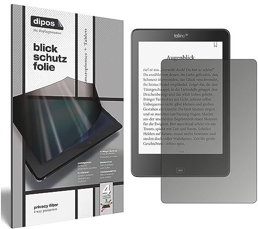dipos I Protección de la Vista Compatible con Tolino Epos eBook ...