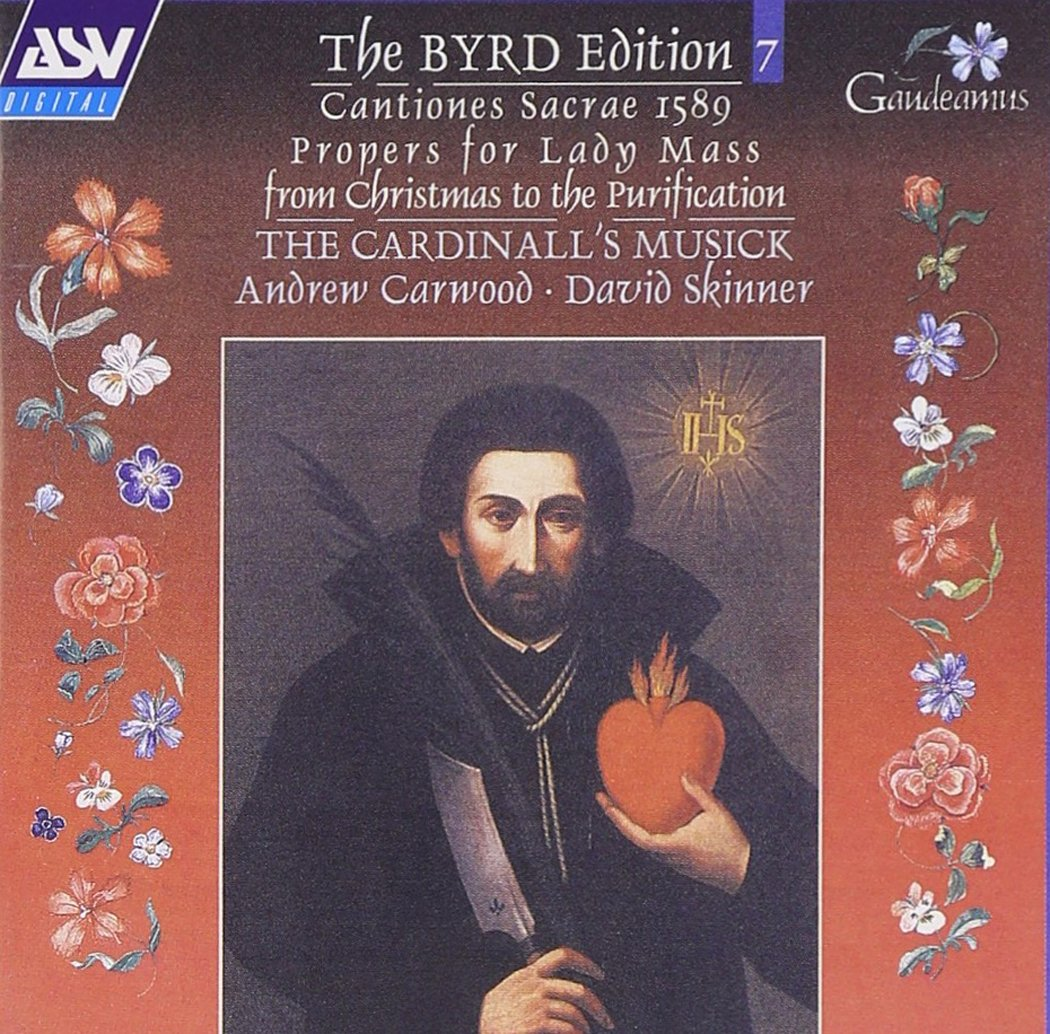 CD : The Byrd Edition Vol. 7: Cantiones Sacrae 1589 - Proper
