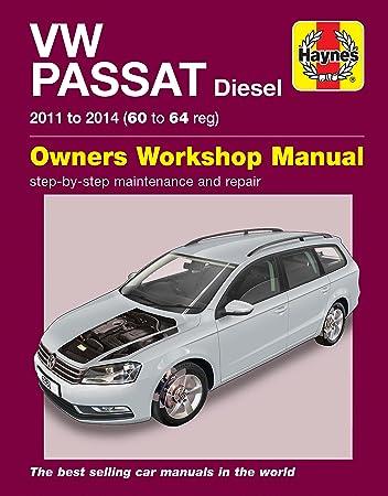 volkswagen vw passat 1 6 2 0 diesel 2011 2014 haynes manual amazon rh amazon co uk Quick Reference Guide Clip Art Quick Reference Guide Clip Art