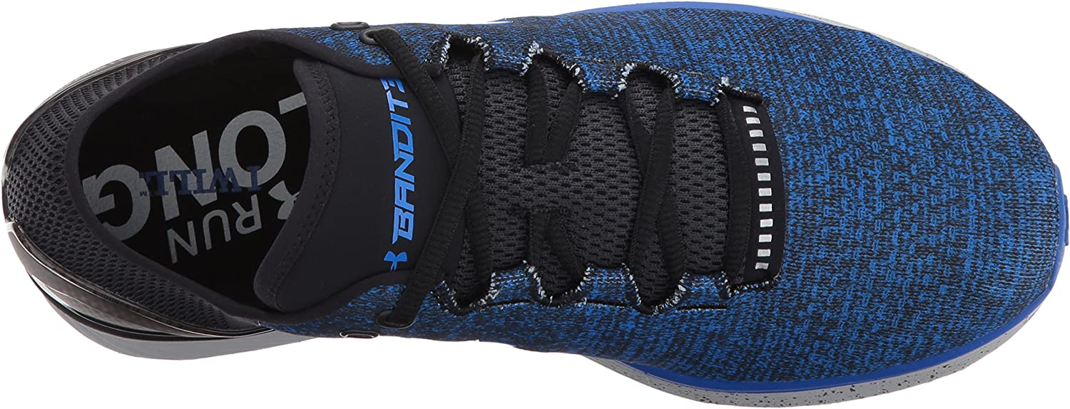 //Black Ultra Blue 9.5 907 Under Armour Mens Charged Bandit 3 Running Shoe