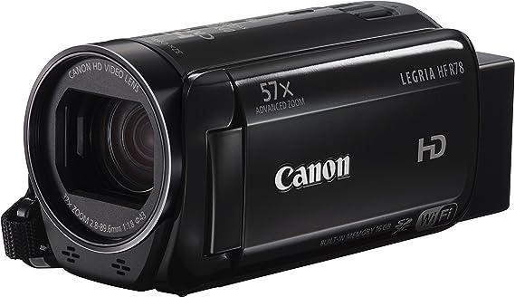 Canon LEGRIA HF R78 3,28 MP CMOS - Videocámara (3,28 MP, CMOS, 25,4/4,85 mm (1/4.85