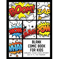 Blank Comic Book for Kids: Create Your Own Story, Comics & Graphic Novels