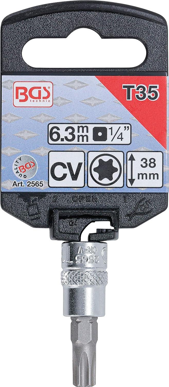 T 15 Argent//gris BGS 2591 Douille /à embouts Torx