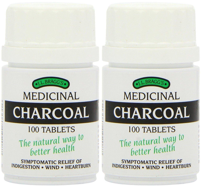 - Braggs Medicinal Charcoal Tablets | 100s | - SUPER SAVER - SAVE MONEY by Braggs Medicinal