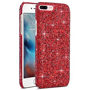 EINFFHO Carcasa iPhone 7 Plus, Funda iPhone 8 Plus, Lujo de ...