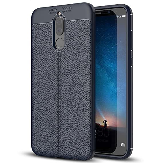 purchase cheap 824eb a7d41 Amazon.com: Huawei Honor 9i Case, Huawei Honor 9i Faux Leather Case ...