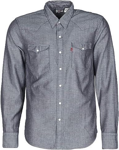 Levis Barstow Western Shirt para hombre en color índigo ...