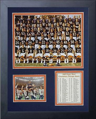 Amazon.com: Legends Never Die 1985 Chicago Bears Foto ...