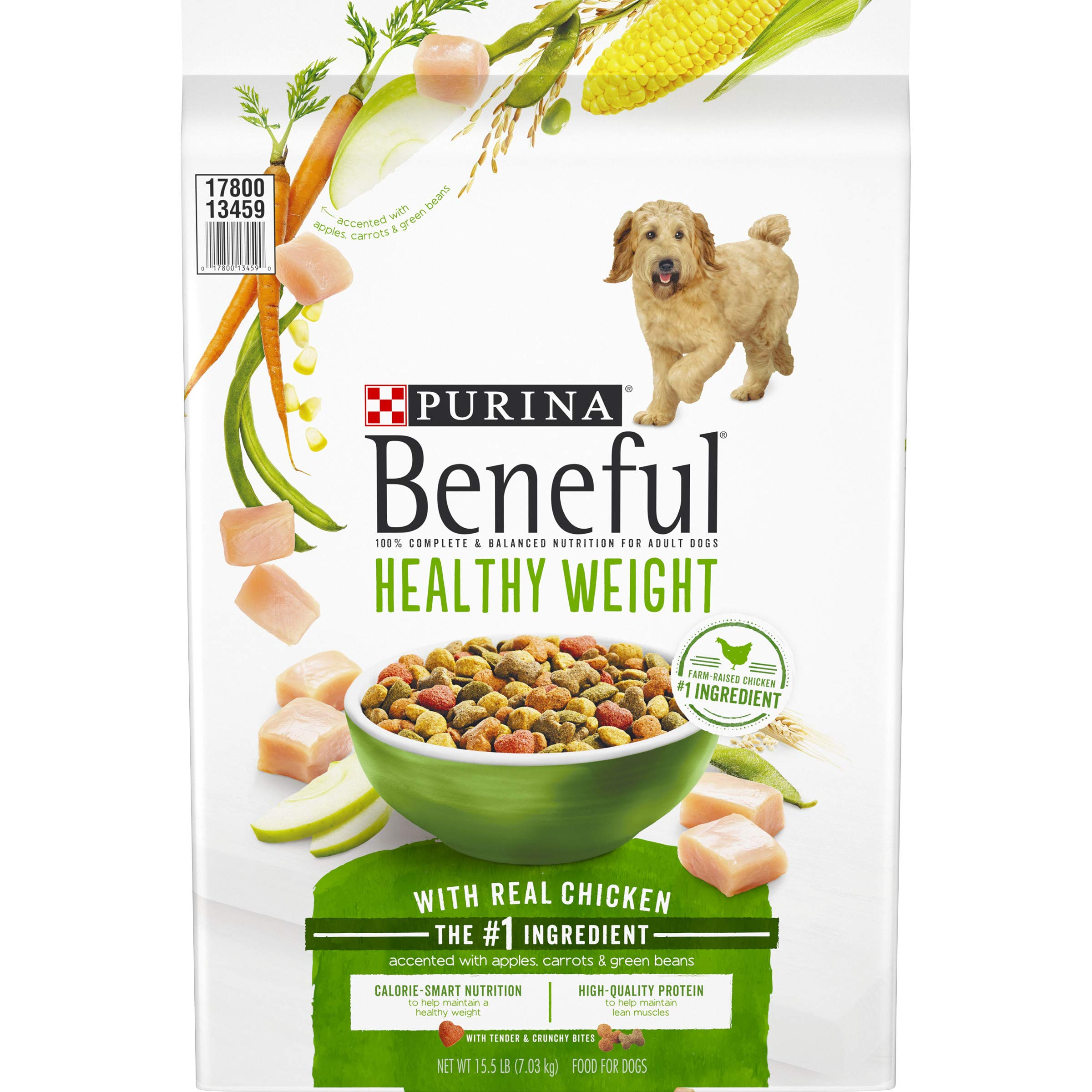 Purina Beneful Healthy Weight Dry Dog Food, Healthy Weight With Real Chicken - 15.5 lb. Bag by Purina Beneful