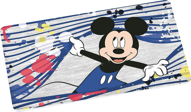 Disney Mickey Mouse 12775 Friends Brotbrett, Frühstücksbrett, Frühstücksbrettchen, Brett, Brettchen, Mehrfarbig Frühstücksbrett GEDA LABELS GmbH