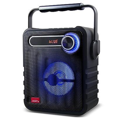 Audicore AC810 Altavoz portátil Bluetooth FM AUX USB Tarjeta SD batería Li-Ion Carga microUSB