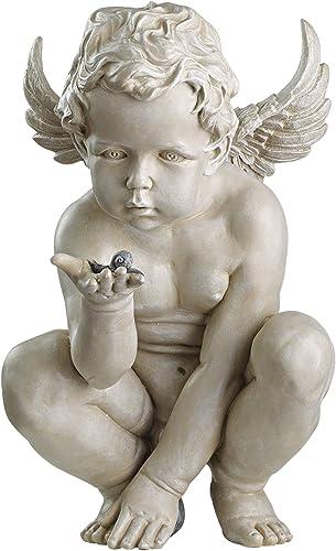 Design Toscano Life's Mysteries Cherub Garden Statue