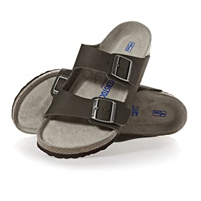 46780214d0 Birkenstock Mens Arizona Soft Footbed Desert Soil Green Regular Sandals Size  10.5