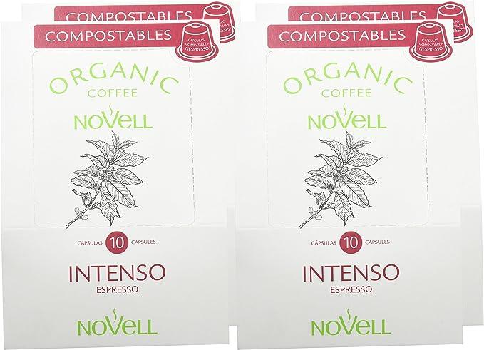 Cafés Novell Cápsulas compostables compatibles con Nespresso ...