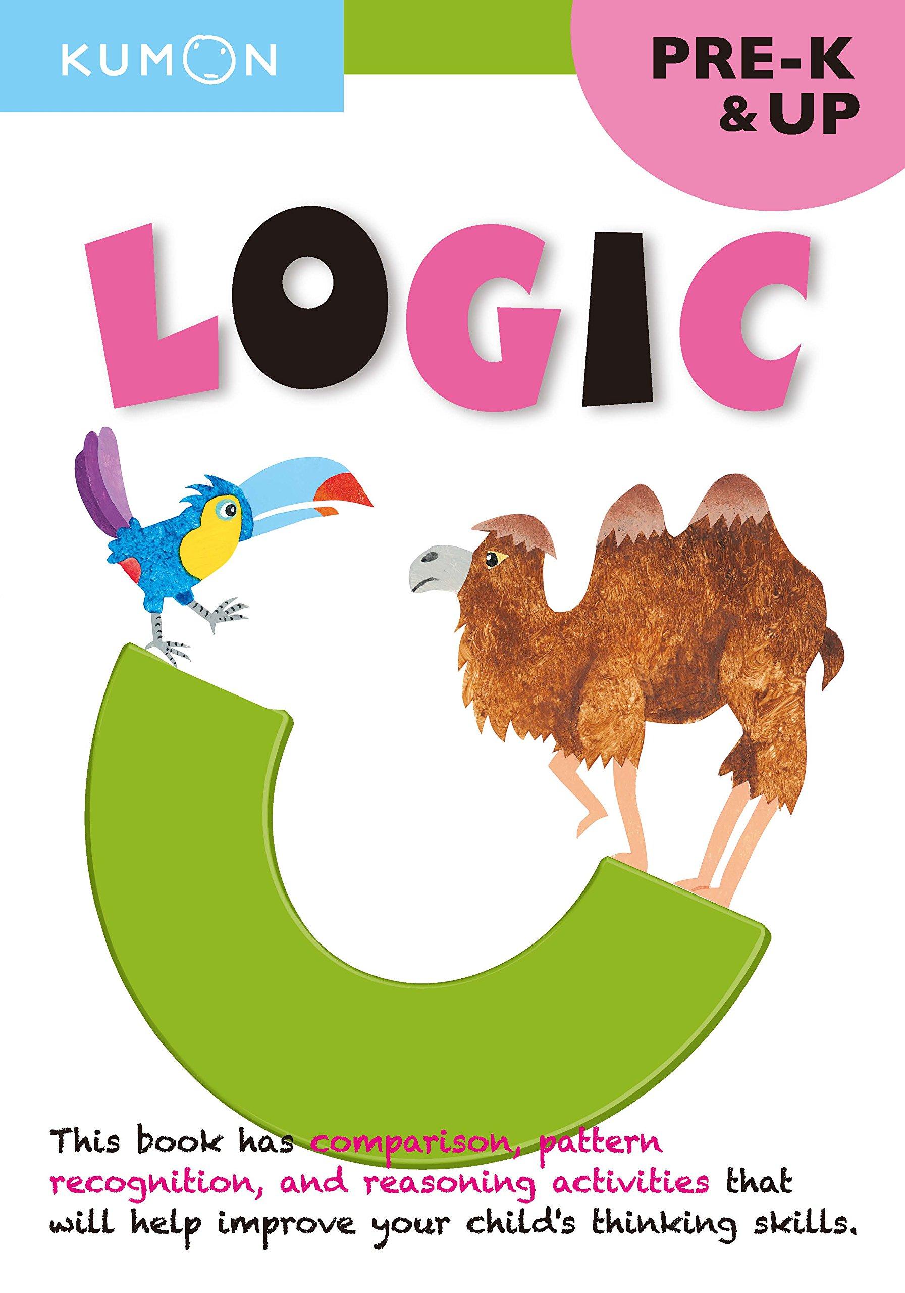 Logic, Grade Pre-k (Thinking Skills Workbooks) (Kumon Thinking ...