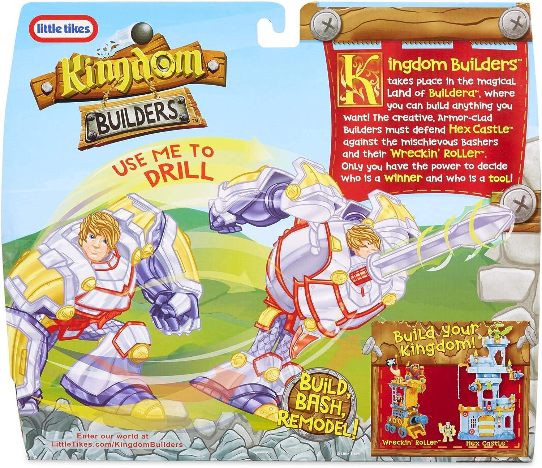 little tikes Kingdom Builders Deluxe - Sir Power - Phil - Figuras de Juguete para niños (Multicolor, 3 año(s), Niño/niña): Amazon.es: Juguetes y juegos