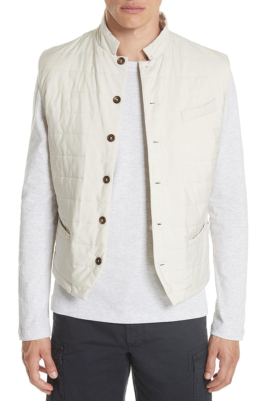 [イレブンティ] メンズ ジャケットブルゾン Eleventy Quilted Vest [並行輸入品] B07D744PMC Large