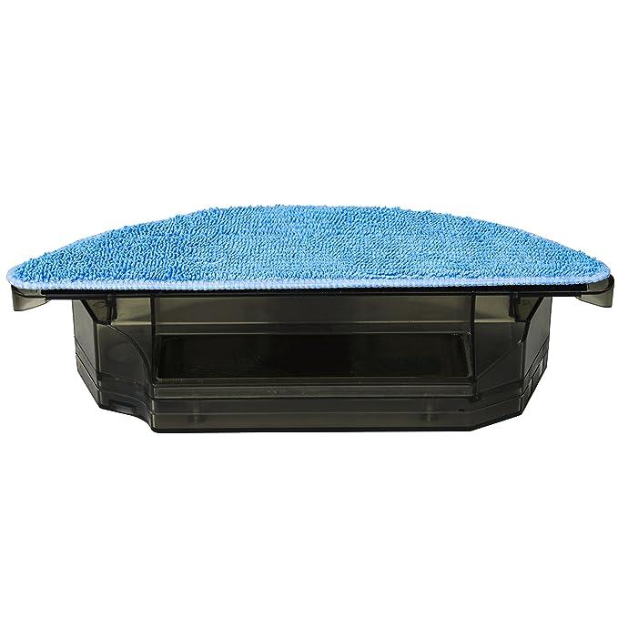 Cecotec Depósito friega Suelos con mopa de Microfibra. Compatible con Robots aspiradores Gama Excellence. Pasa la mopa y friega el Suelo.