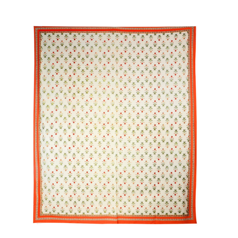 TRADITIONAL MAFIA RSES777106 Single Bed Sheet, 90'' x 108'', Multicolor