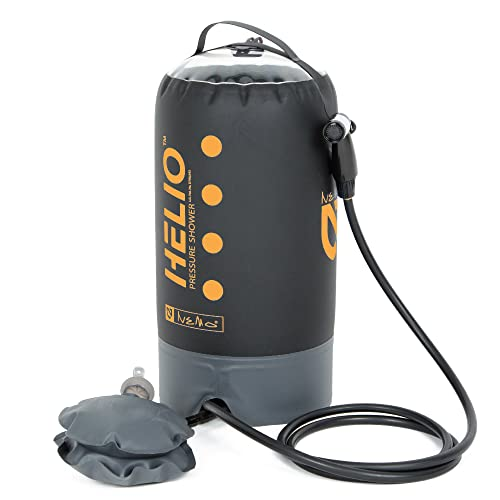 Nemo Helio Portable Foot Pump Pressure Shower