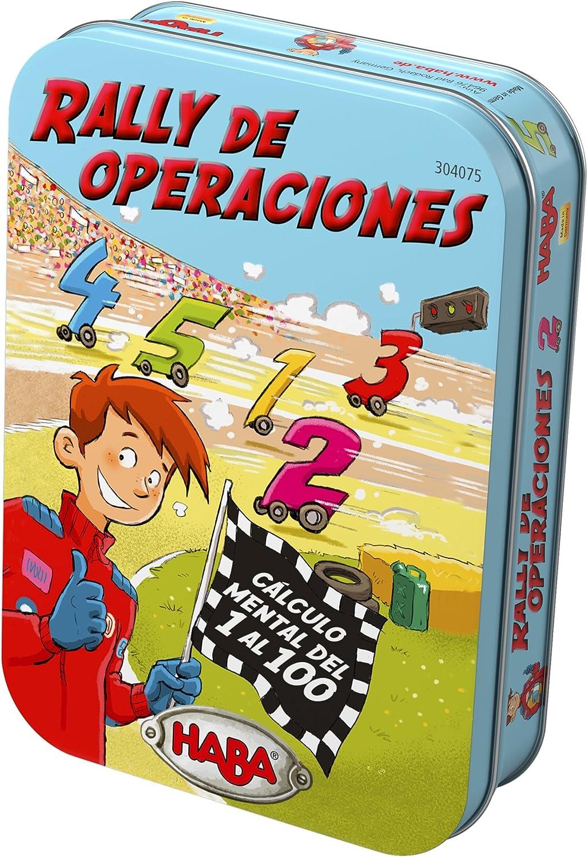 Haba- Rally de Operaciones - ESP, Multicolor (Habermass 304075)