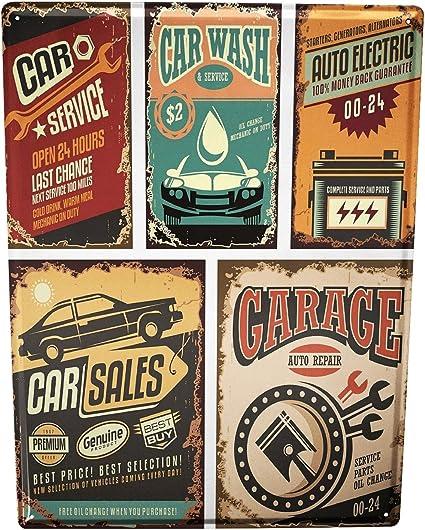 JE NE DONNE PAS UN Métal Signes Rétro Vintage Cafe Pub Garage Tin plaque maison cuisine