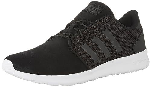 more photos c5f85 88abb Image Unavailable. Image not available for. Colour adidas Womens Cloudfoam  QT Racer Shoes