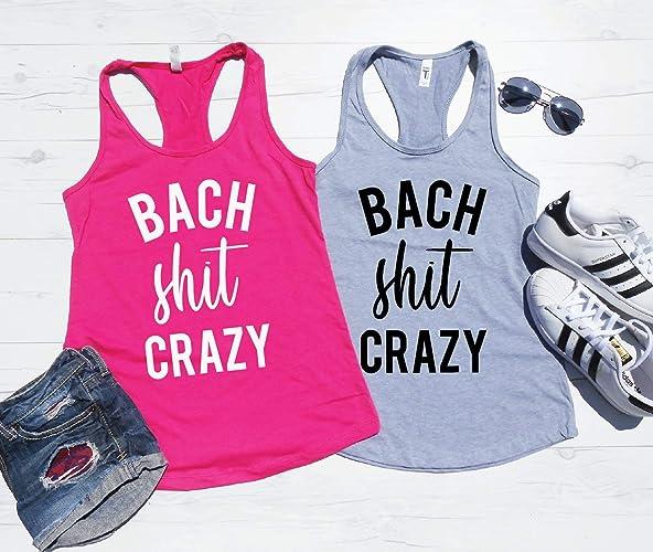 e7ce231ca Bach Shit Crazy Tank Top, Bachelorette Party Tank, Bachelorette Party  Matching Tanks, Nashville Bachelorette, New Orleans Bachelorette, Bach Shit  Tanks