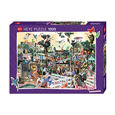 Heye Puzzles - Life! Style!, 1000pc - In The Hills: Anderlon, Sanda: Toys & Games