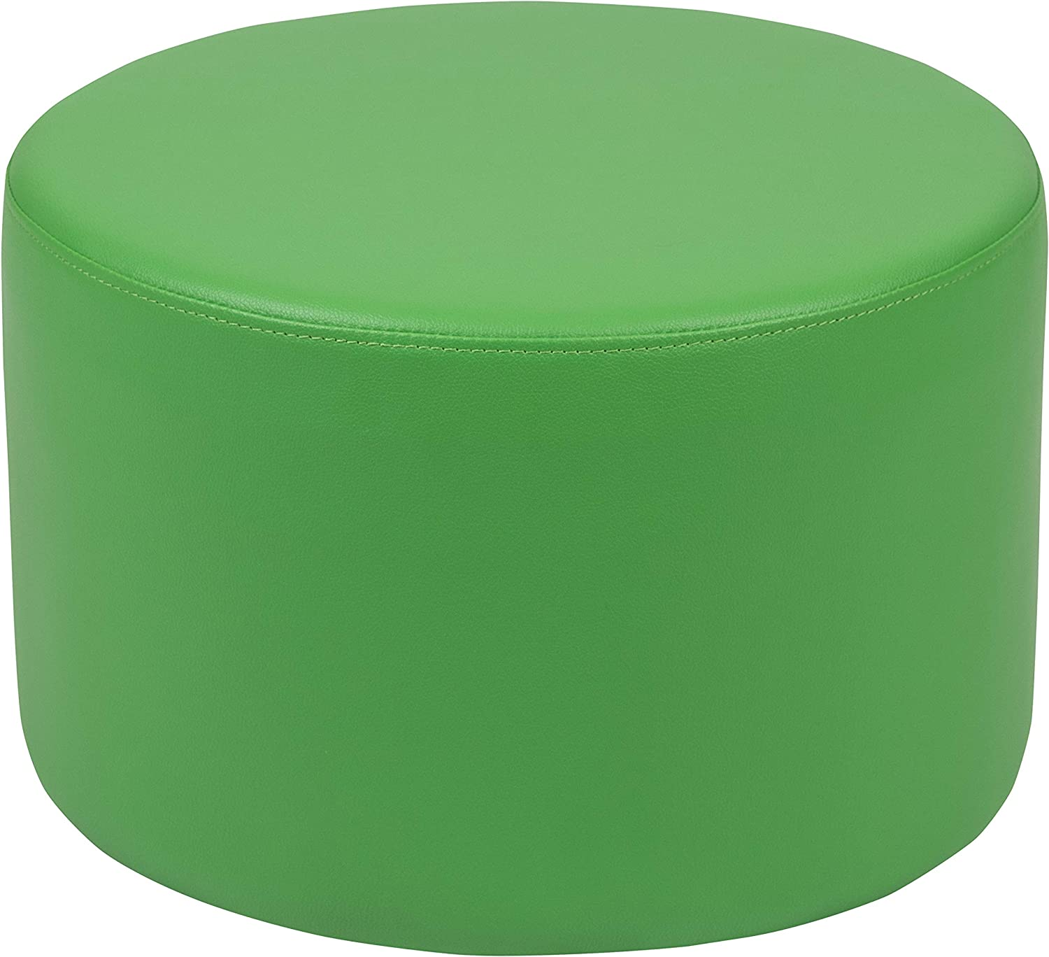 """Flash Furniture Soft Seating Collaborative Circle for Classrooms and Daycares - 12"""" Seat Height (Green)"""