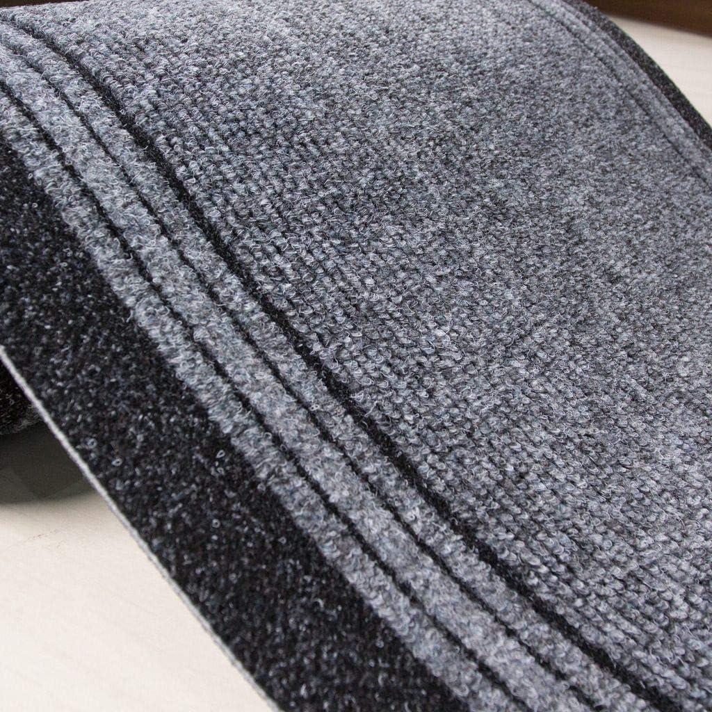 personnalisable gris 183cm Tr/ès Long Tapis /étroit pour couloir avec envers en caoutchouc Gris Length: 6