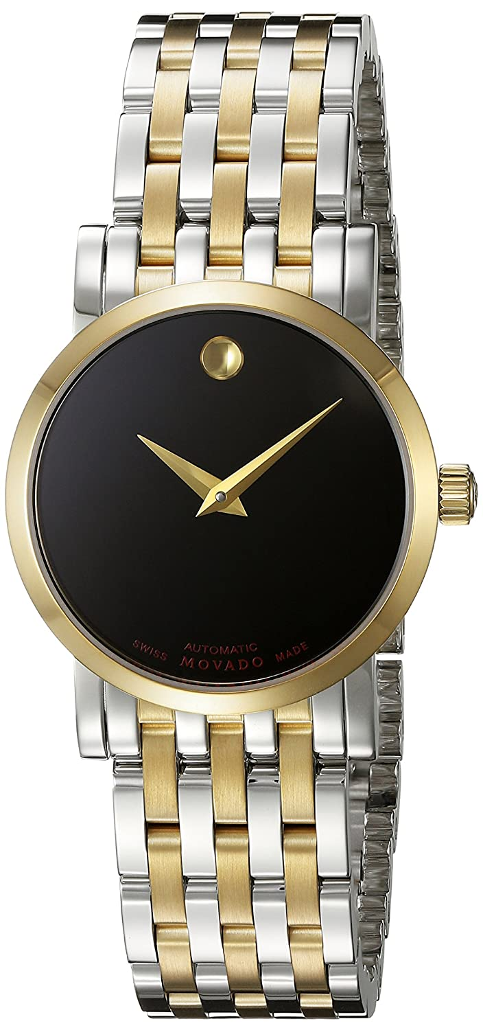 s tone sport luno watches two dial watch movado men black